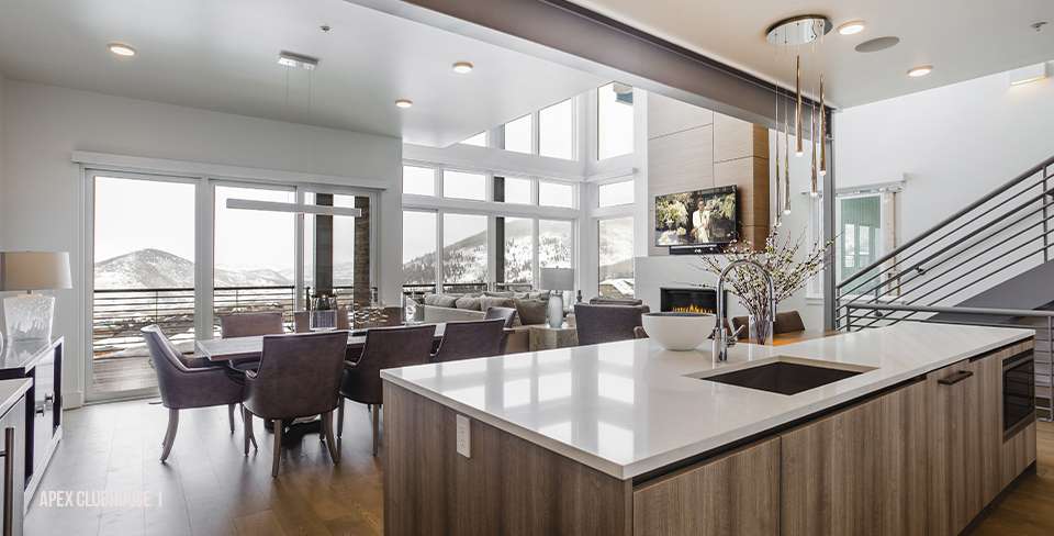 Luxury kitchen & great room