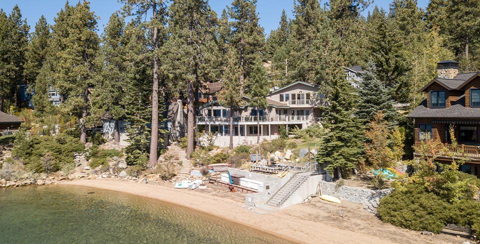 Luxury Lake Tahoe home, Marla Bay